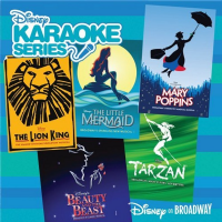 Disney on Broadway Karaoke CD